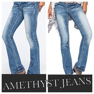 AMETHYST • Boot Cut Jeans